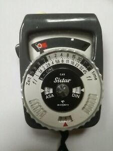 Gossen Sixtar CdS Belichtungsmesser Light Meter Lichtmesser DIN ASA im Lederetui