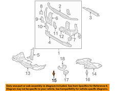 TOYOTA OEM Splash Shield-Splash Shield Bolt 9008011373