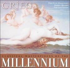 Millennium 19: Grieg [Audio CD] Grieg, Edvard; Yuri Ahronovitch; Bela Banfalvi;