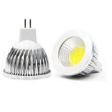 2xmr16 AC DC CREE COB LED Spot Light Bulb Downlight Lamp Silver Warm WH