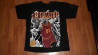 Cool LeBRON JAMES Basketball Cleveland Cavaliers Team T-Shirt mens womens LARGE