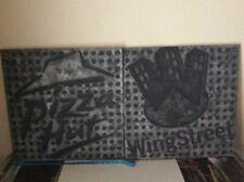 """2 PIZZA HUT & Wing Street Logo Segni pannelli 22"""" x 22"""" sotto il banco"""
