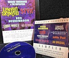 Extended Versions:DVD&CD,STYX,Lynyrd Skynyrd,Reo Speedwagon,George Thorogood