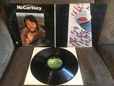 PAUL McCARTNEY McCartney 1970 Apple GF LP STAO-3363 VG+ LH/RL edition