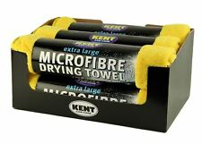 6 x Microfibre Drying Towel 800mm x 620mm Extra Large Towels Kent O6100CDU
