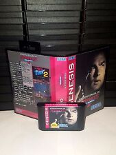 Steven Seagal in Streets of Rage 2 Game for Sega Genesis! Cart & Box!