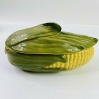 Vintage Corn King Shawnee Pottery Covered Casserole #74  Corn Ware - Excellent