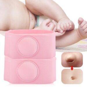 2Pcs KID Baby Umbilical HERNIA BELT Navel Truss Support Infant ABDOMINAL Binder
