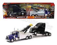 NEWRAY 1:32 LONG HAUL TRUCKER KENWORTH W900 TOW TRUCK & KENWORTH T700 CAB 12873