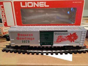 Lionel 1976 6-7806 Seasons Greetings Christmas Box Car