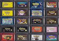 Juegos Pokemon GBA Game Boy Advance: Advanced Adventure, Dark Cry, Glazed