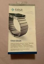 fitbit blaze metal accessory band & frame