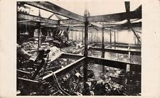 West London  - CHISWICK, Fire Damaged Building - Real Photo, by Wakefields Ltd