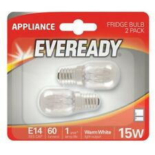 220-240V 15w Refrigerator Fridge Freezer Appliance E14 Bulb Warm White