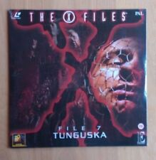 X-Files: File 7, Tunguska -  PAL Laserdisc EE1226 - Brand New Factory Sealed