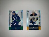 2019-20 Upper Deck Tim Hortons You Pick ! Clear Cut Phenoms Hockey Card IN STOCK