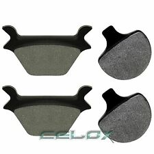 FIT HARLEY DAVIDSON FLSTF FAT BOY 1990 1991 1992-1999 FRONT & REAR BRAKE PADS