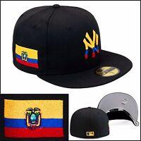 8dfa3201f4a New Era New York Yankees Fitted Hat Cap Ecuador Ecuadorian Flag mlb copa  america