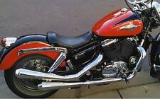 HONDA VT1100 C2 SHADOW ACE Chrome Custom Slip-On Exhaust System (651-1102)