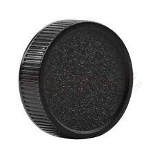 2Pcs Black Rear Lens Cap Cover For M42 42mm 42 Screw Mount