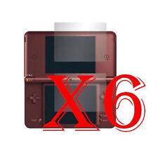 6 PZ PELLICOLA PROTEZIONE DISPLAY Nintendo DSi XL PROTEGGI SCHERMO LCD