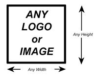 Bespoke Custom Company Logo Wall Paper Vinyl Self Adhesive Sticker Decal Print*