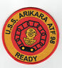 USS Arikara ATF-98 Fleet Tug Boat - Ready - 4 inch FE BC Patch Cat No c6405