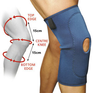 Knee Support Open Patella Lightweight Latex Free Small