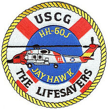 HH-60J Jayhawk helo Lifesavers W4664 USCG Coast Guard patch