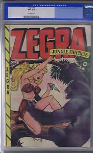 Zegra #2 Fox 1948 CGC 8.5 (VERY FINE +) Old Label
