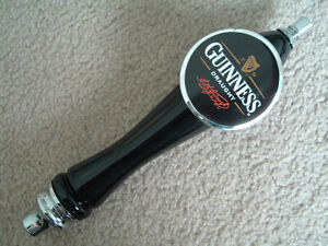 Guinness Draft Guiness Irish Beer Tap Handle knob tapper Pub Sign Draught