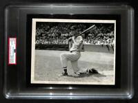 1946 Ted Williams Original Type 1 Photo. First MVP season. PSA