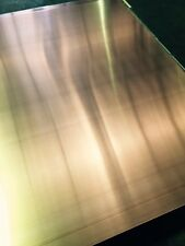 COPPER SHEET PLATE 300mm X 300mm X 3mm