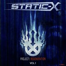 STATIC -X - PROJECT REGENERATION 1 NEW CD