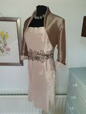Gorgeous John Charles Dress/Jacket - UK 10 - Wedding - Occasion -