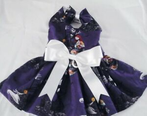 DOG DRESS/HARNESS  NIGHTMARE BEFORE CHRISTMAS  NEW FREE SHIPPING