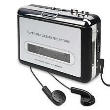 Reproductor MP3 cassette Adaptador USB Audio Casete Cinta Convertidor CD Player