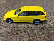 Cararama Hongwell BMW 3 Series Touring Light yellow 1/72 Scale Loose No Box