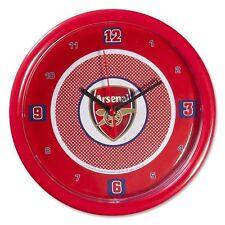Arsenal Bullseye Wall Clock Official Licensed Merchandise Football Fan Gift