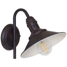 Wandleuchte Wandlampe STOCKBURY  braun antik  E27 max.60W  EGLO
