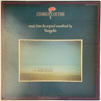 CHARIOTS OF FIRE OST LP VANGELIS POLYDOR 1981 JAPANESE PRESSING EX/EX PRO CLEAN