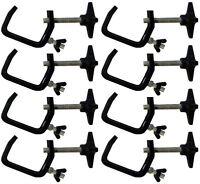 8 x Chauvet Hook Clamp CLP-03 25mm - 50mm