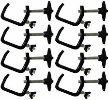 8 X Chauvet Hook Clamp Clp-03 25mm - 50mm