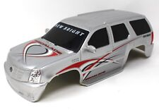 New Bright Cadillac Escalade Rc Rock Crawler Dur Corps Argent