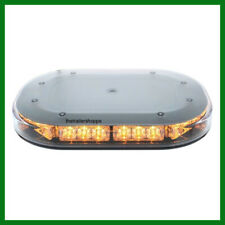 UPI Mini Lightbar Magnet Mount Amber Flashing  Strobe 30 LEDs Low Profile 36921