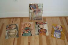 """Graciela Rodo Boulanger - Book & FOUR Original Signed Lithographs 9""""x12"""""""