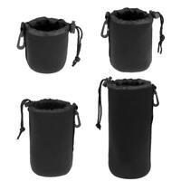 Waterproof DSLR Camera Lens Protective Pouch Bag S/M/L/XL Case for Canon Nikon