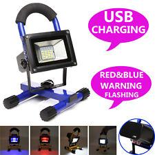 Handheld Rechargeable 60W LED Lamp Flood Light Emergency Hand Lamp Spotlight UK