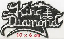 KING DIAMOND - Logo patch - FREE SHIPPING