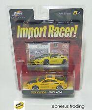 Jada Import Racer Tuner Toyota Celica 7th Gen. T230 Yellow #003 1/64 NEW MINT!